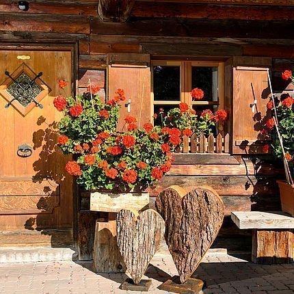Eingang bei der Hütte | Mitterstall