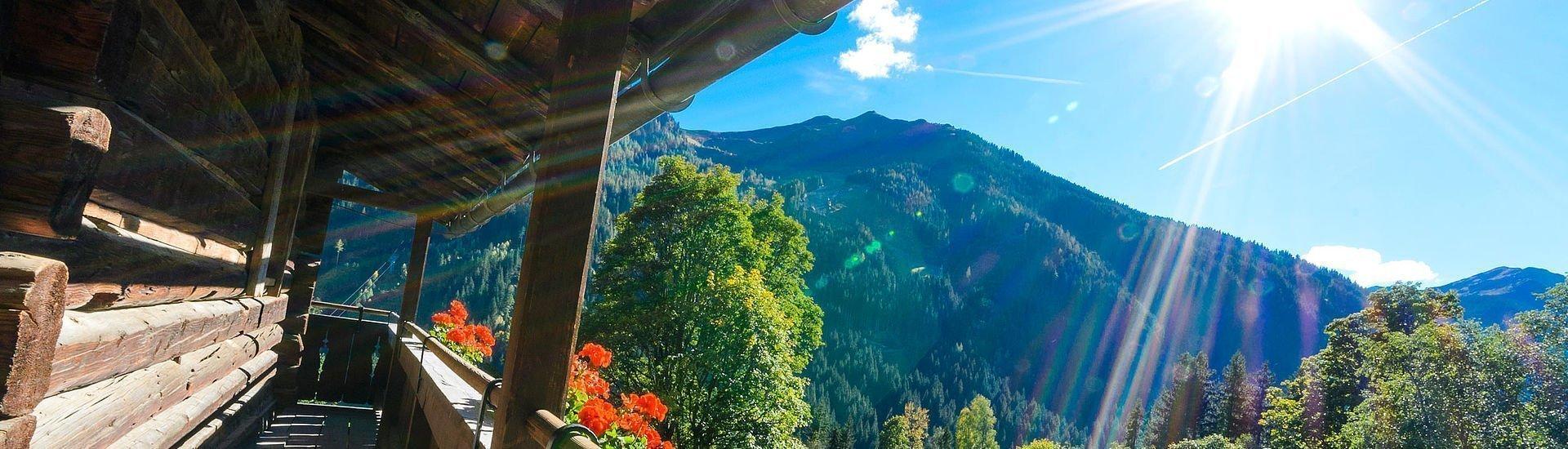 Balkon auf der Hütte | Saalbach Hinterglemm